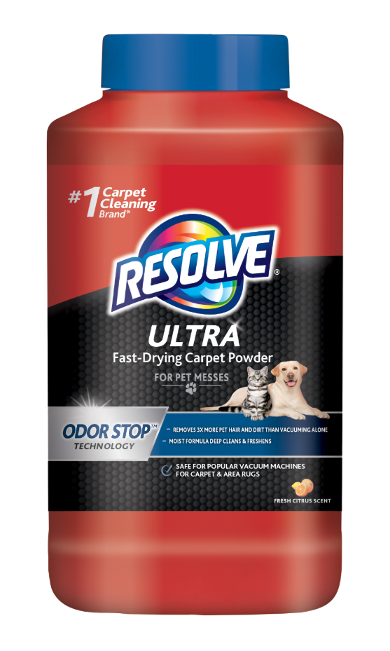 RESOLVE® ULTRA Fast-Drying Carpet Powder